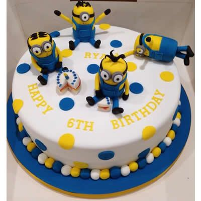Wondrous Despicable Me Cake Recipe Funny Birthday Cards Online Inifofree Goldxyz