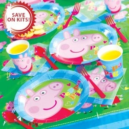 Peppa Pig and George Ultimate Party kit
