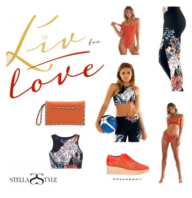 Live in Love by stellasstyle247activewear on Polyvore featuring polyvore, fashion, style, STELLA McCARTNEY, Valentino, L'urv and clothing