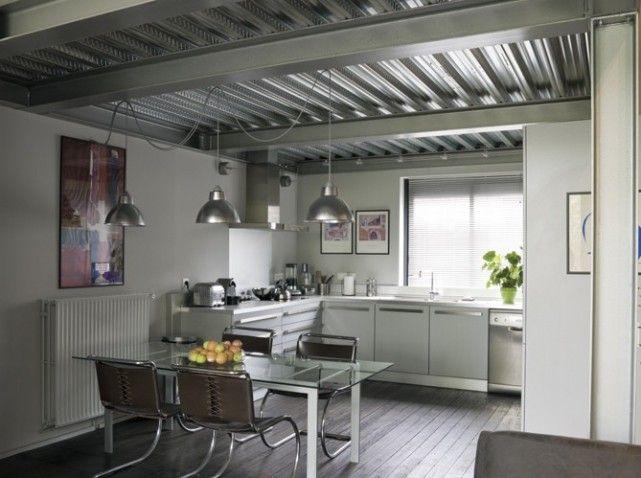 les 70 meilleures images propos de construction m tallique sur pinterest loft maison et. Black Bedroom Furniture Sets. Home Design Ideas