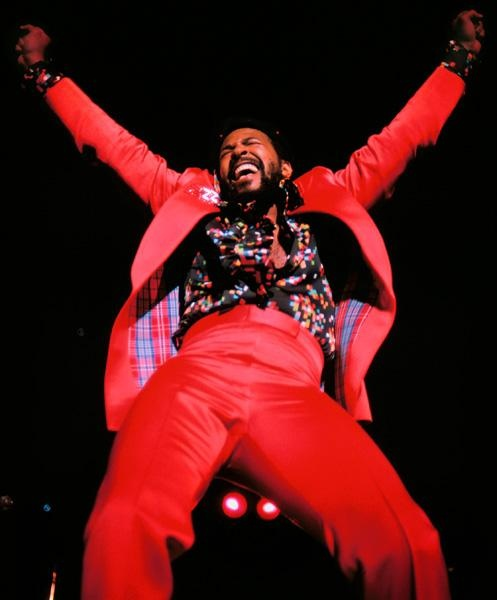 Marvin! I love the music of Marvin Gaye.  What a tremendous soul singer!