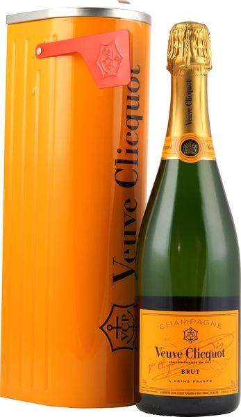 Die Mailbox Edition des Veuve Cliquot Brut Champagners kaufen Sie hier günstig im Spirituosen und Champagner Online Shop Spirituosen Superbillig.