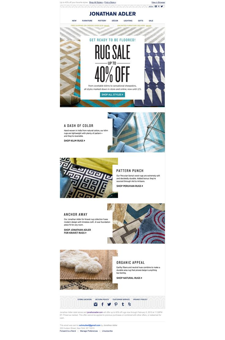 35 best newsletter design images on pinterest email newsletters interesting interlocking visual device for copy block fandeluxe Image collections