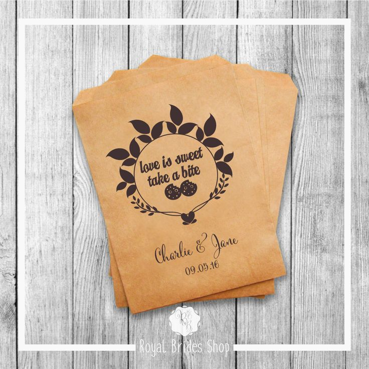 Wedding Favor Bags - Style 005