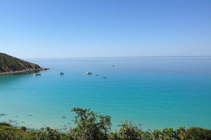 Mari Pintau nabij Geremeas in zuid-oost Sardinie