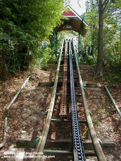 Vintage Backyard Roller Coaster : The Serpent at Astroworld in Houston, Texas  cant you just hear the