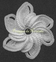 Crochet flower. - http://crochetimage.com/crochet-flower-3/