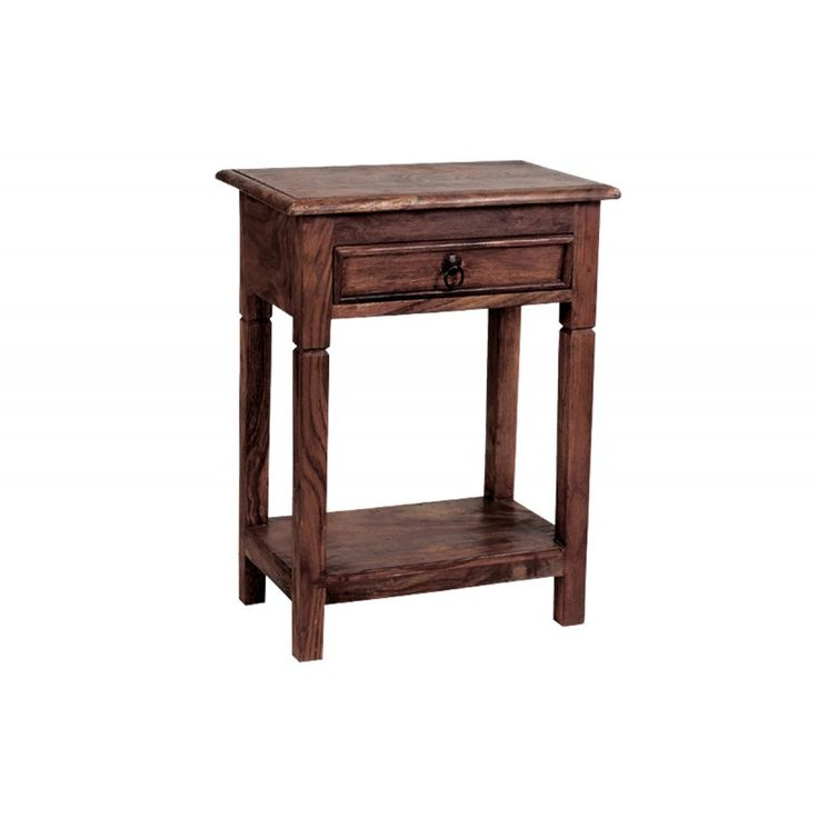 Wooden bedside table Dorp 40x30x60 ΕΙ303