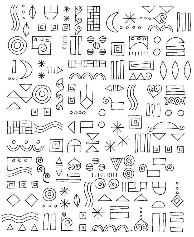 Put any of these together and it immediately makes your own patterns