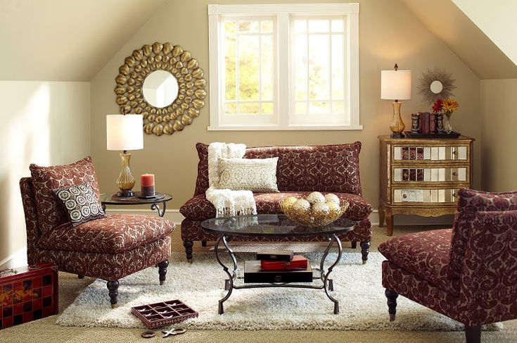 Pier 1 living room featuring the crisanto hall chest for Pier 1 living room ideas