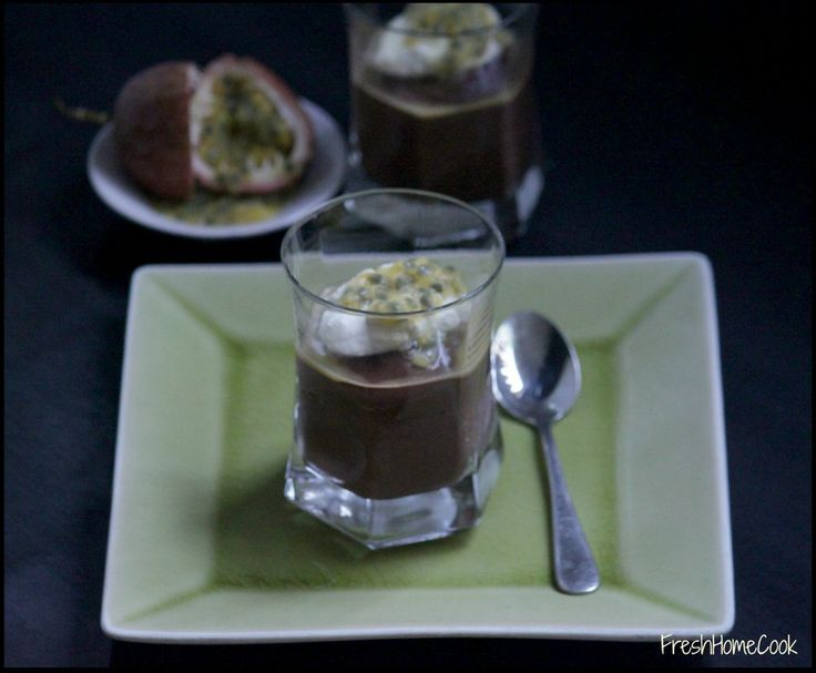 Chocolate Chia Pudding with Whipped Coconut Cream