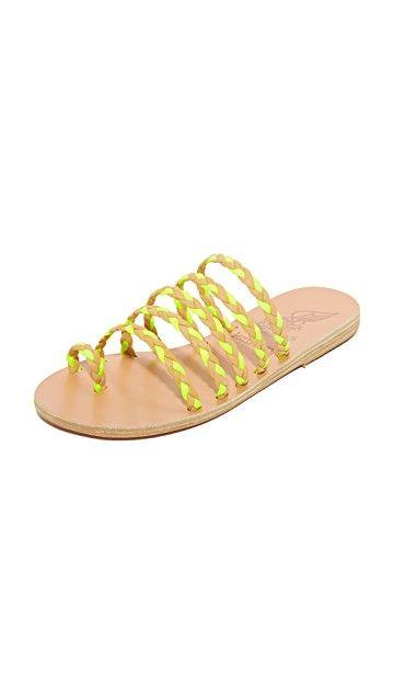 ANCIENT GREEK SANDALS | Ancient Greek Sandals x Lem Lem Niki Braids Slides #Shoes #ANCIENT GREEK SANDALS