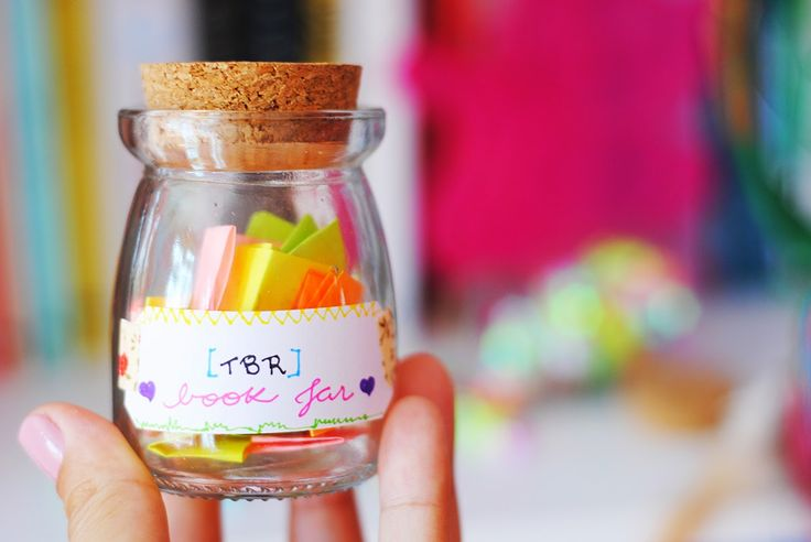 Minha TBR Book Jar ♥