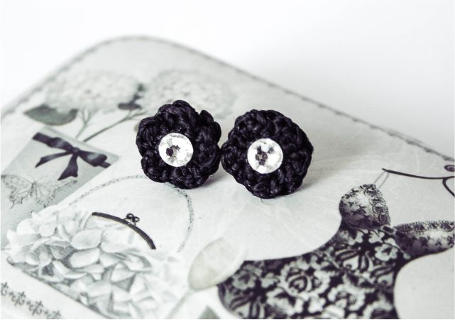 Groove & Stitch Crocheted Jewelery #style #fashion #accessories #jewellery #fblogger #fblog #earrings