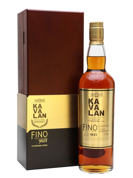 The pinnacle of Kavalan's early production - a whisky matured in Fino sherry casks, rather than the more usual darker sherry styles. Rich with more fresh fruit than you might expect from a sherried...