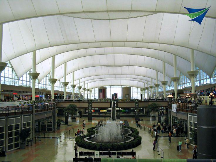 Denver Airport Tensile Roof
