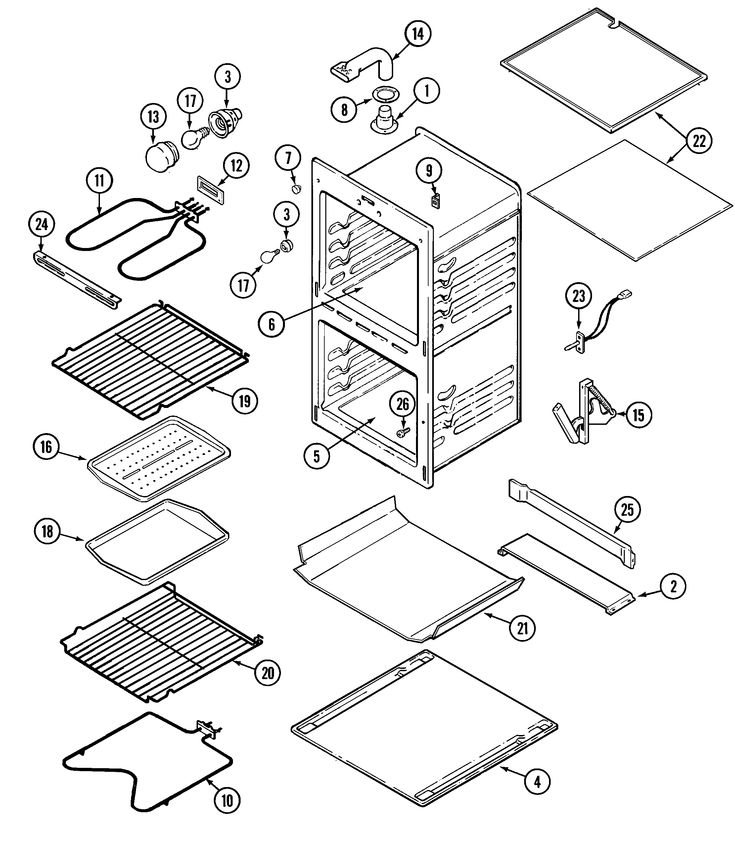 Parts To An Oven