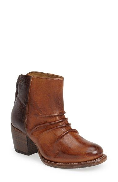 Women's Bed Stu 'Arcane' Leather Ankle Boot, Size 8.5 M - Brown