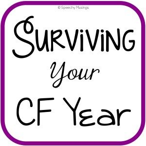 Tips on surviving your CF Year.