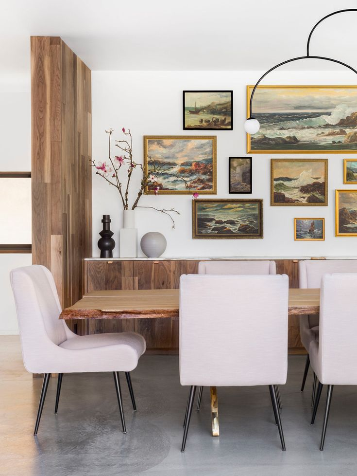 Blush, stain-resistant dining room chairs? Check. #Sponsored
