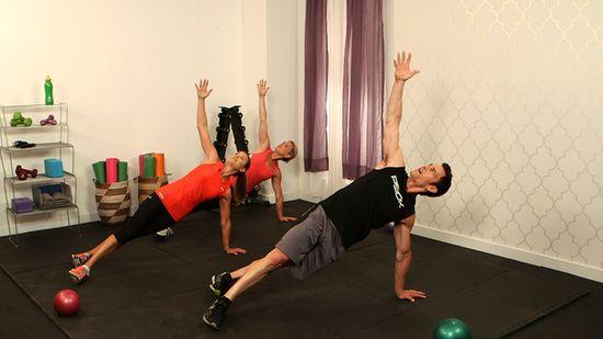 10 Minute Custom Workout From P90X's Tony Horton!