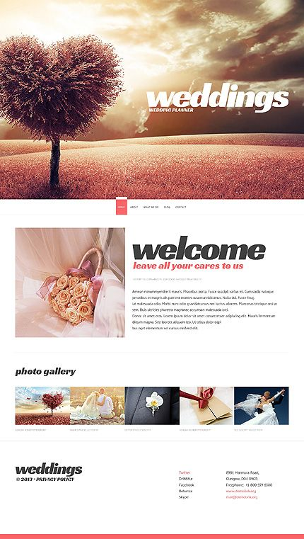 Best 25+ Wedding website templates ideas on Pinterest | Wedding ...