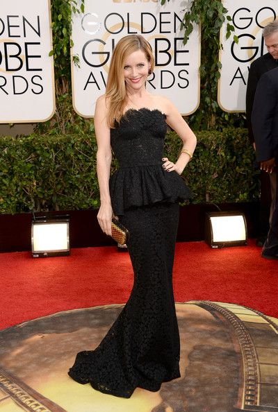 Leslie Mann 71st Annual Golden Globe Awards - Arrivals - Pictures - Zimbio