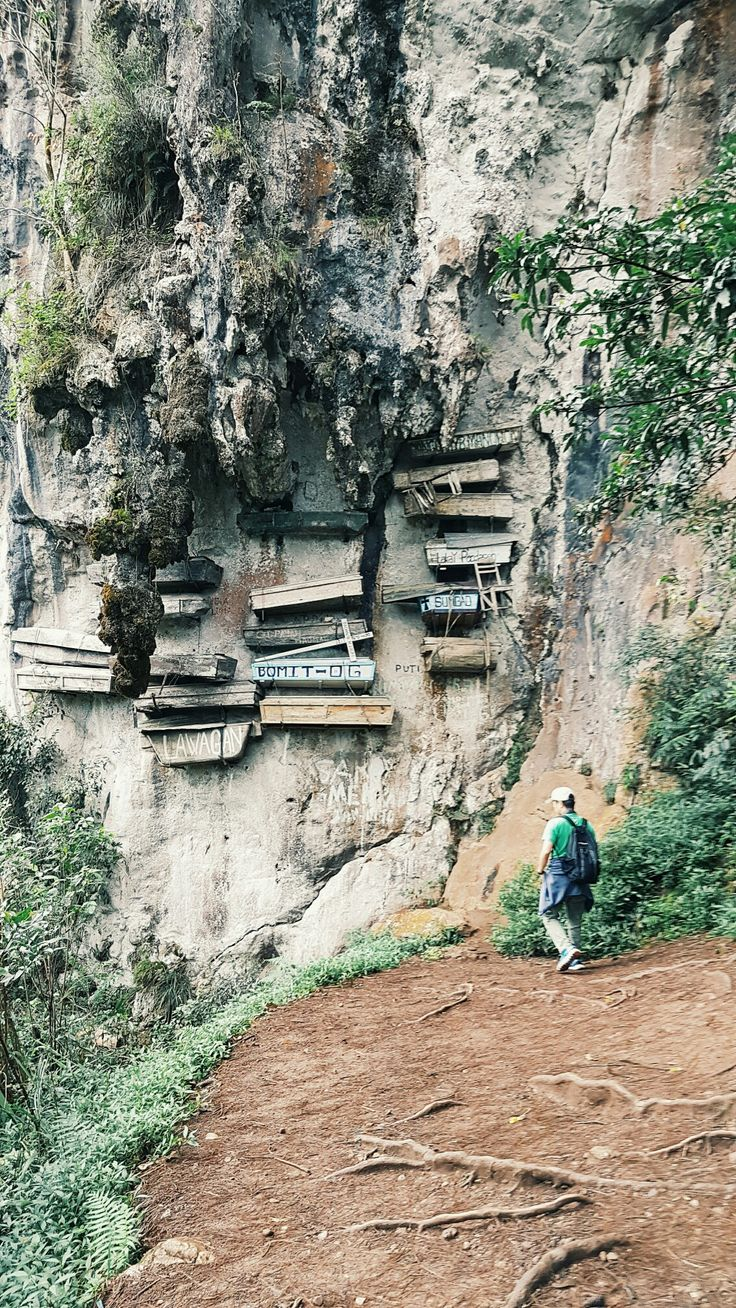 The hanging coffins of Sagada, Mountain Province, Philippines