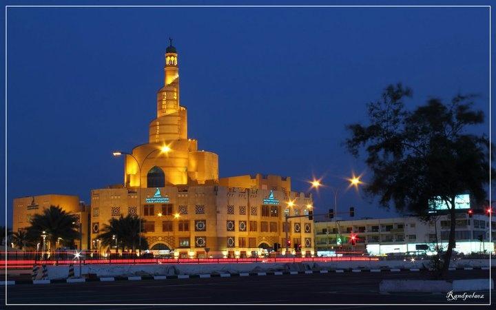 Doha | Al Fanar Islamic Center. view on Fb https://www.facebook.com/SinbadsQatarPocketGuide  credit: Rhandy Pelaez #qatar