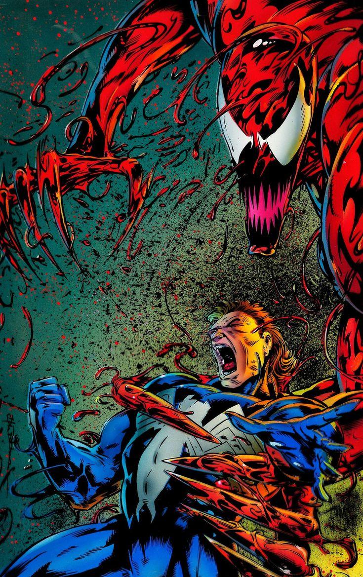 Carnage Cletus Kasady Venom Edward Brock Comic Villains Marvel Superheroes