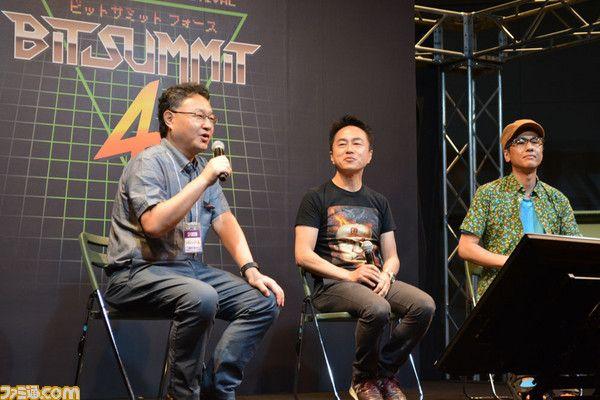 吉田修平氏とパラッパラッパーの生みの親松浦雅也氏が国内のインディーシーンやPS VRについて語るBitSummit 4th