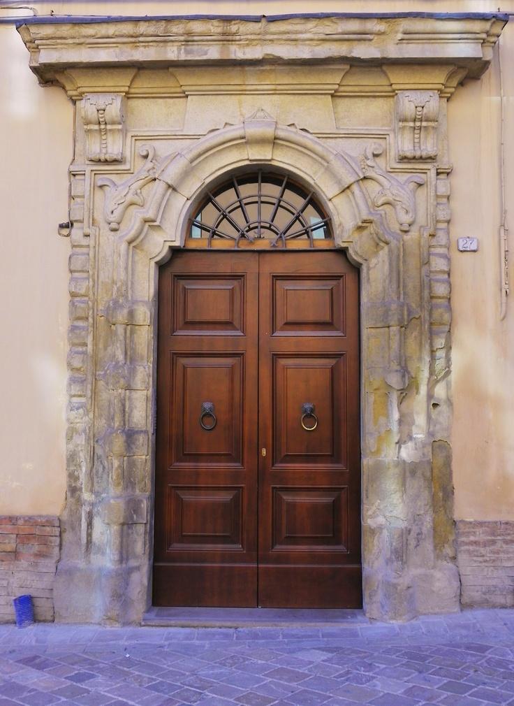 The door to the Doctor's