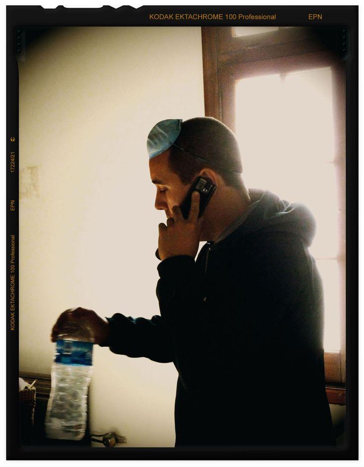 a veces se trabajaba, a veces se hablaba por teléfono