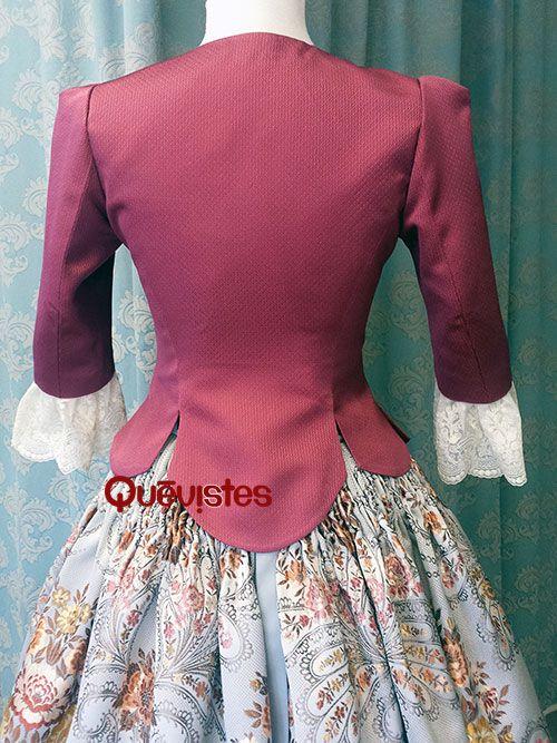 Quevistes Taller de costura: Cuerpos traje baturro de gala