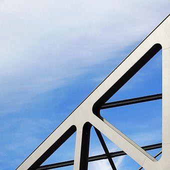 Most, Kovů, Nebe, Průmyslové, Tvary