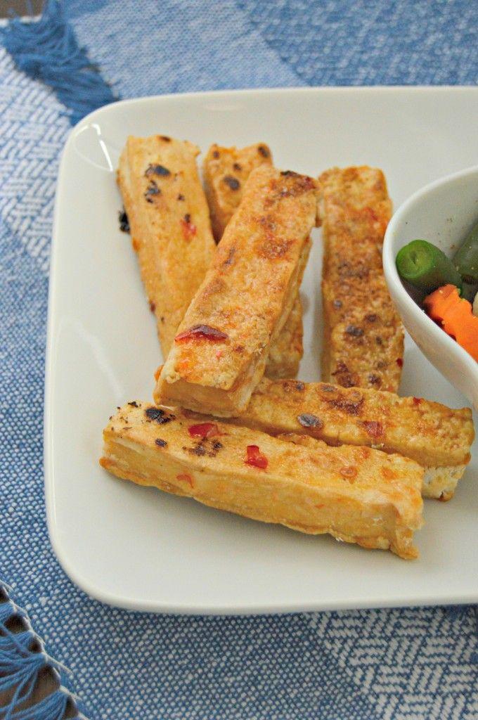 Sweet Chili Baked Tofu