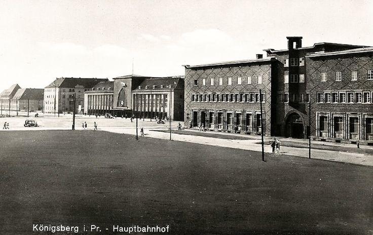 Königsberg Pr.            Hauptbahnhof um 1930