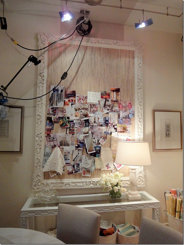inspiration board at home: Sarah Richardson, Office, Craft, Idea, Mood Board, Inspiration Boards, Richardson Design