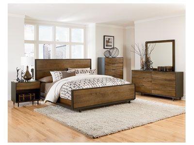 Danica 4-Pc King Bedroom Set