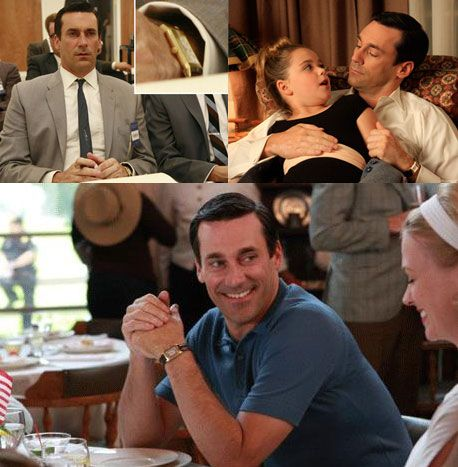 17 best images about vintage watches in tv shows don draper mad men wears a vintage jaeger lecoultre reverso watch
