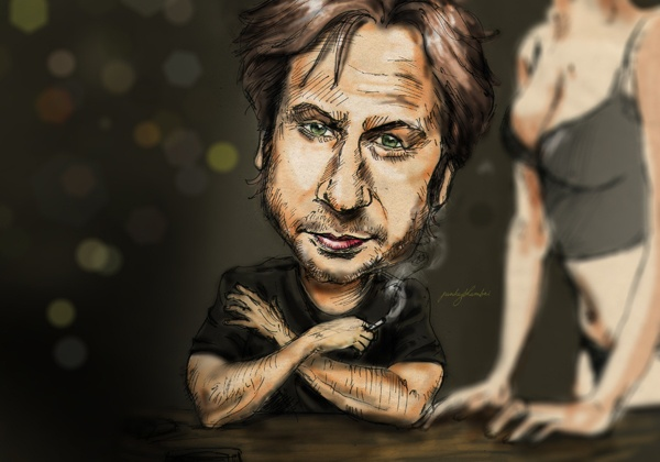 """Unforgiven Sins"" (Hank Moody from californication TV series)  David Dutchovny"