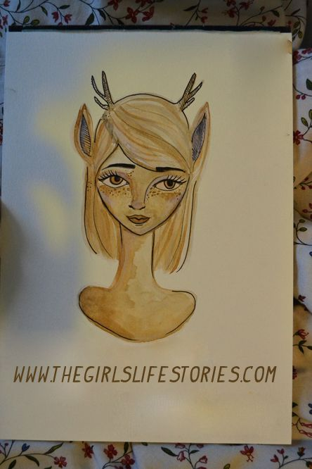 How to make coffee painting? // Only at www.thegirlslifestories.com :)
