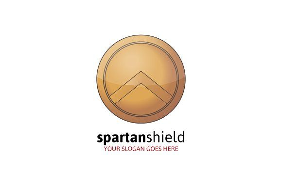 Spartan Shield Logo Templates **Features**- Fully Editable Logo- Multiple color variations- AI, EPS, PSD and PNG files- Font U by MLJ studios