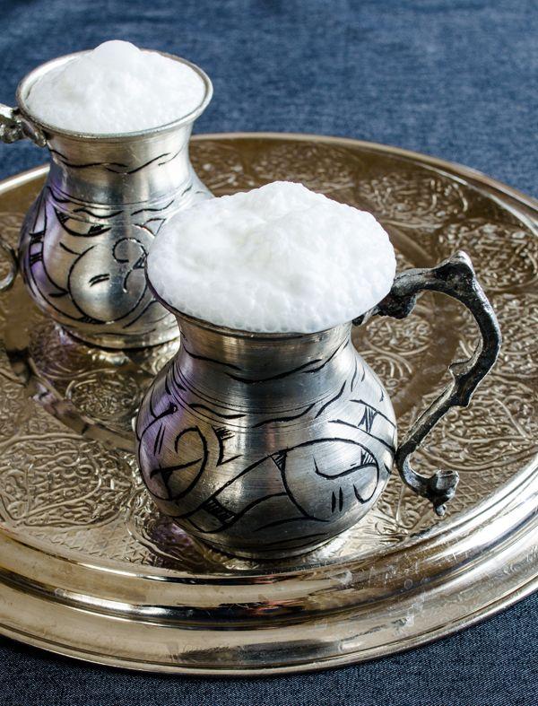 How to make Ayran, a refreshing Turkish yogurt drink.