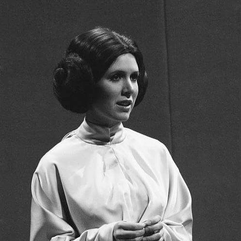 """Today we're remembering the iconic Carrie Fisher (1956–2016), who died exactly one year ago but whose legacy lives on in """"Star Wars,"""" """"Postcards from the Edge,"""" """"When Harry Met Sally..."""" and more. Check out our contributor @michaelvarrati's poignant tribute at the link in bio. (Photo by @gettyimages)"""
