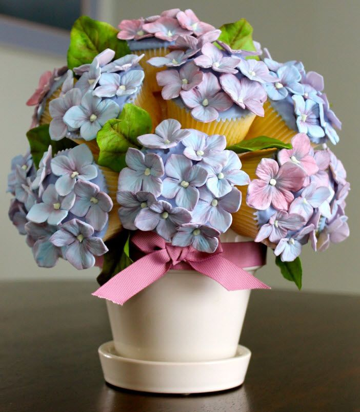 Best images about cakes hydrangea on pinterest