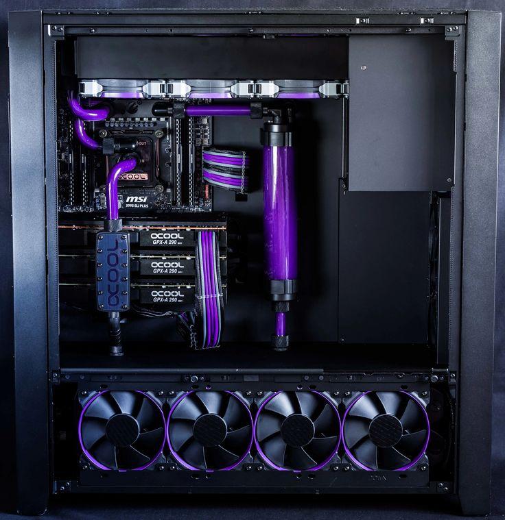 project erebus 4k trifire x99 full h2o and purple