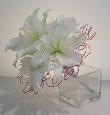 How To Make Lily Wedding Bouquet