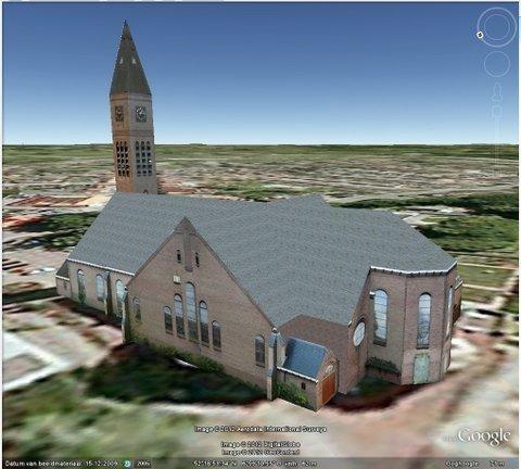 De Plechelmuskerk van De Lutte is nu ook in 3D te bewonderen op google earth. Mooi stukje werk www.delutte.com