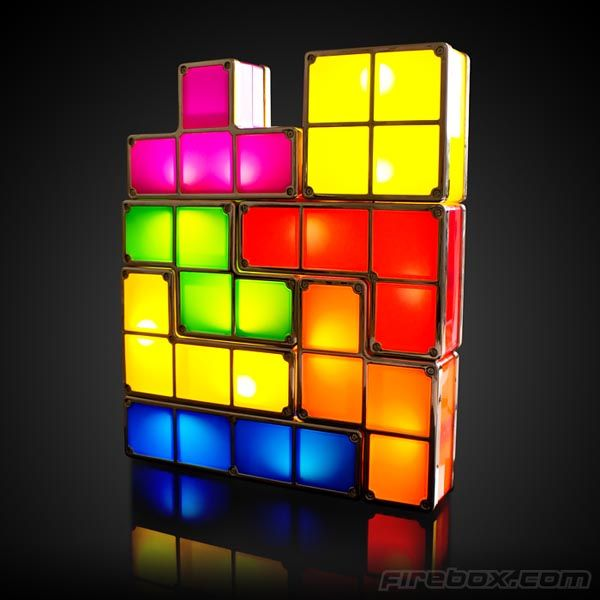 Awesome Tetris Desk Light